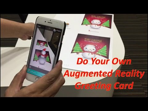 How to Do Your Own Augmented Reality (AR) Greeting Card