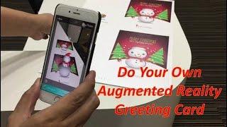 Wie Machen Sie Ihre Eigene Augmented Reality (AR) - Gruß-Karte