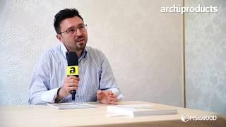 Archiproducts Milano 2017 | MS&WOOD - Engin Obucic racconta prodotti e Brand