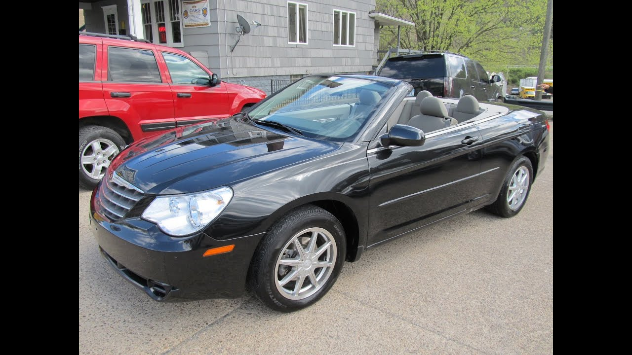 2008 Chrysler Sebring Touring Hardtop Convertible One Owner Elite Auto Outlet
