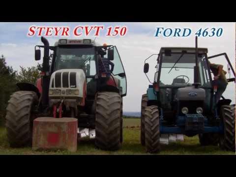 *Pflügen Spezial* Steyr CVT 150 und Ford 4630
