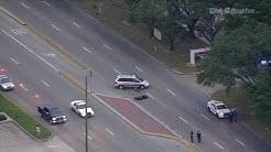 Raw video: Fatal motorcycle crash in northwest Houston