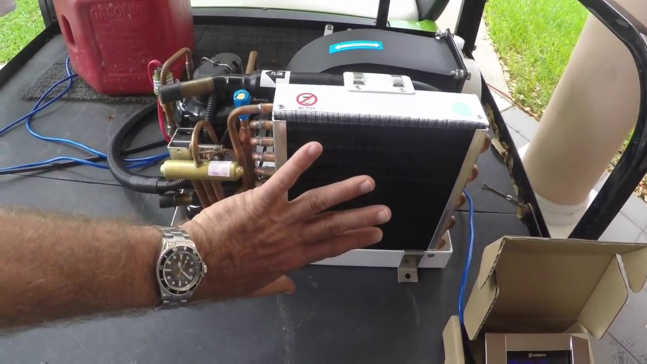 worlds smallest mini heat pump air conditioner 4000 btumps - youtube