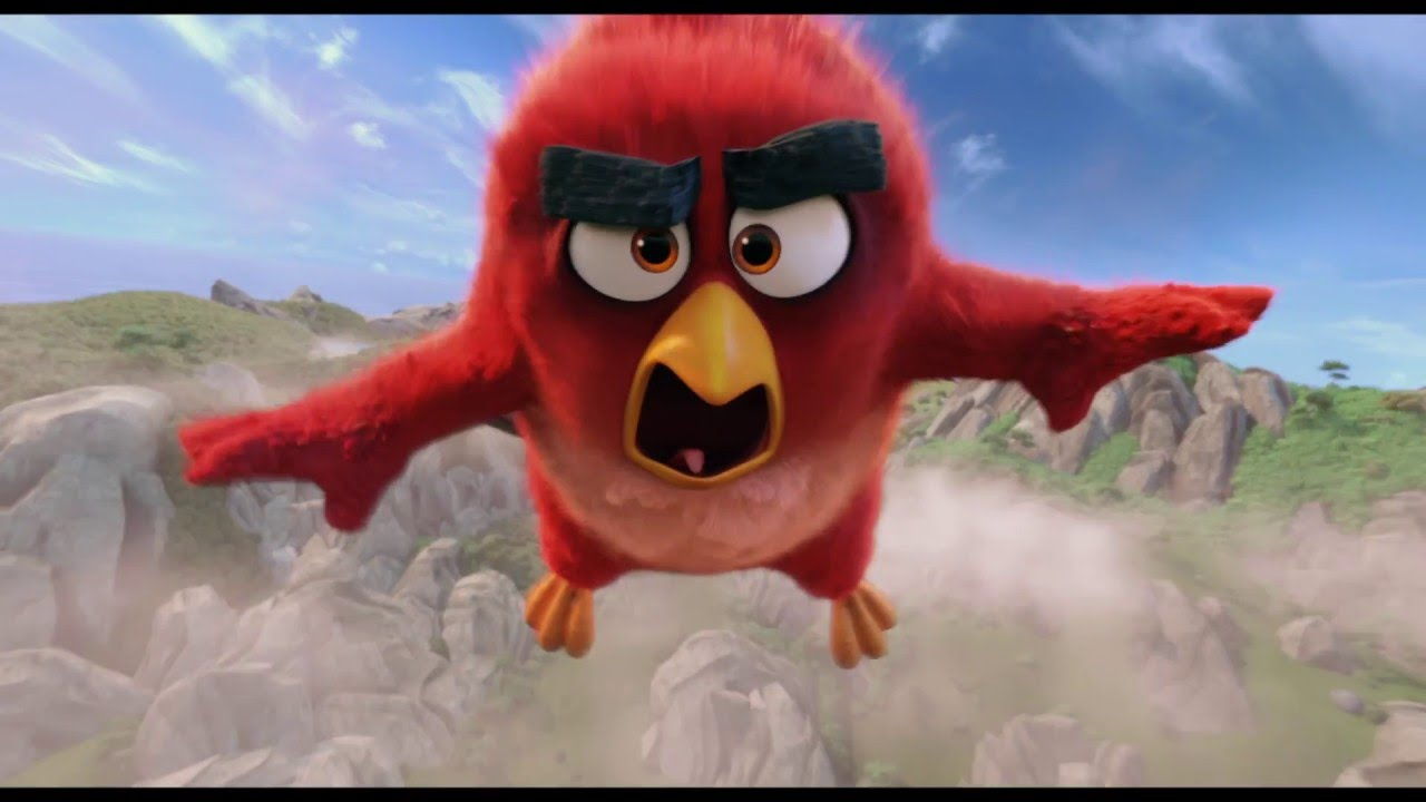 Novo Trailer De Angry Birds: Trailer 3: Angry Birds: De Film