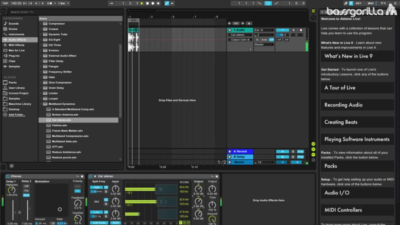 ableton live vocal processing