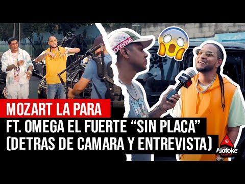 MOZART LA PARA X OMEGA EL FUERTE - SIN PLACA (DETRAS DE CAMARA X ENTREVISTA EXCLUSIVA)