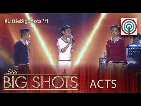 Little Big Shots Philippines: Mackie, Keifer & Francis | TNT Kids Trio