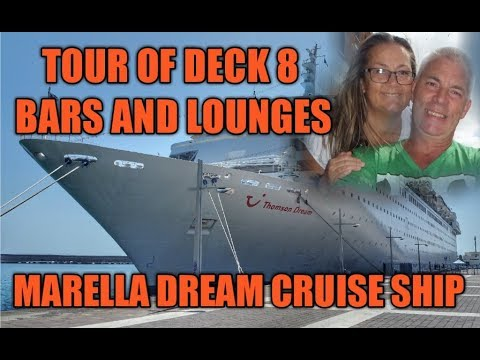 Deck 8 Tour Thomson Dream Cruise Ship (Marella Dream)