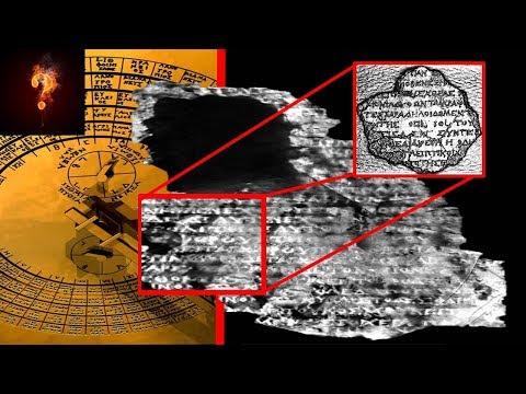 """Antikythera Mechanism"" Secret Inscription Found!"