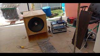 Rockville RVP18W4 18 inch Subwoofer BASS TEST