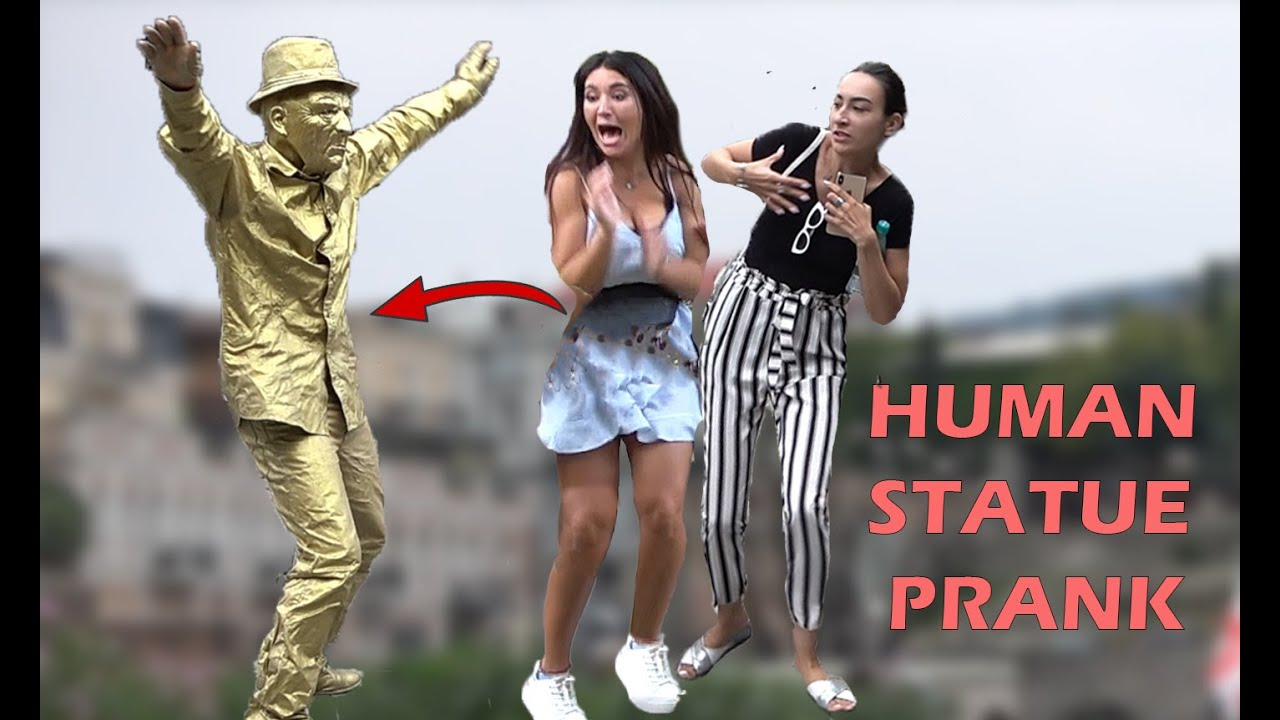 HUMAN STATUE PRANK 2019 #5 | AWESOME REACTIONS |  Best of Just For Laughs