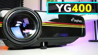 is This Cheap Amazon Projector Worth It?  Elephas YG400 Projector Review