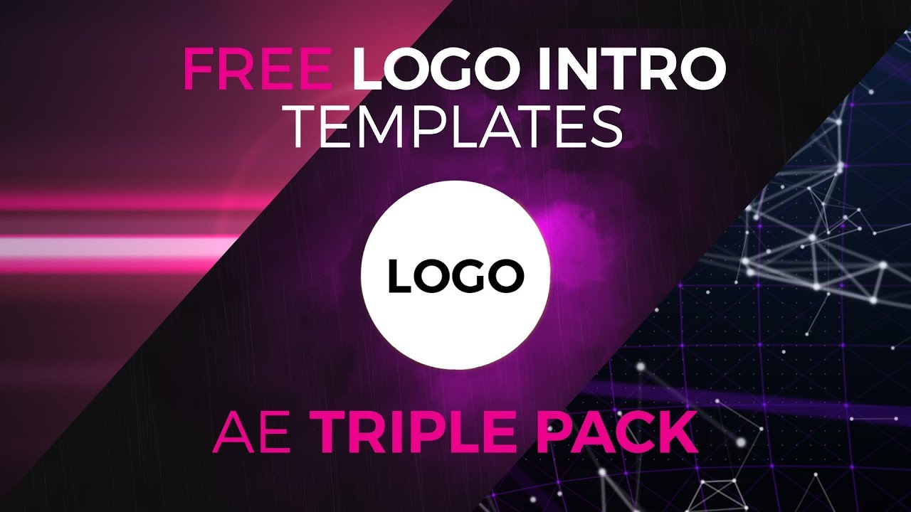 High Voltage Logo Reveal Intro Pack 3 Free After Effects Templates