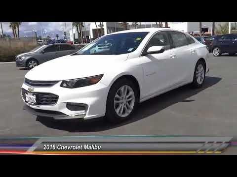 2016 Chevrolet Malibu SAN DIEGO ORANGE COUNTY LOS ANGELES  INLAND EMPIRE  PALM SPRINGS R0611