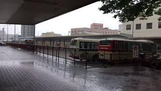 鳥取駅の豪雨の様子 thumbnail