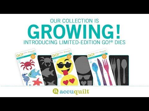 Introducing Three Brand New Limited-edition AccuQuilt GO! Appliqué Dies!