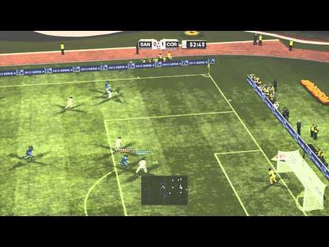 BOMBA PATCH 4 XBOX 360 GAMEPLAY PART 3 SANTOS Vs CORINTHIANS MAIS ...