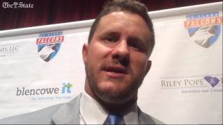 New coach Collin Drafts coming up to speed with A.C. Flora football program