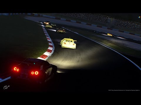Gran Turismo SPORT - Nissan GT3 Race at Nurburgring Nordschleife 24H Night-Replay