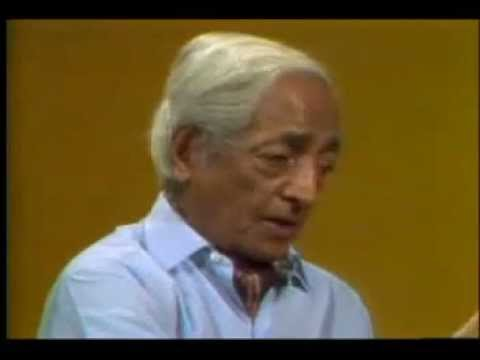 THE SENTENCE SERIES  - J.Krishnamurti - Be A Light to Yourself