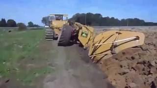 видео Глубина плантажной вспашки
