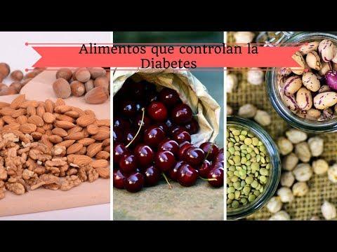 Alimentos que controlan la diabetes