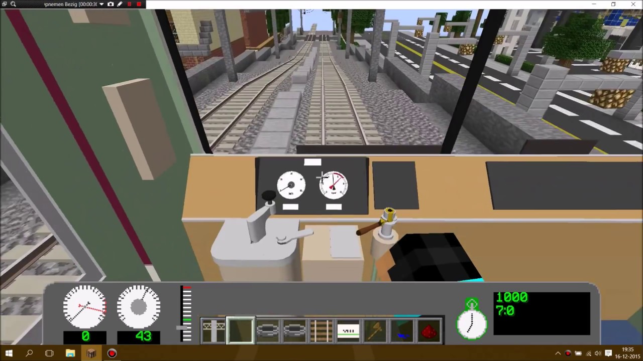 Minecraft real train mod city youtube gumiabroncs Image collections