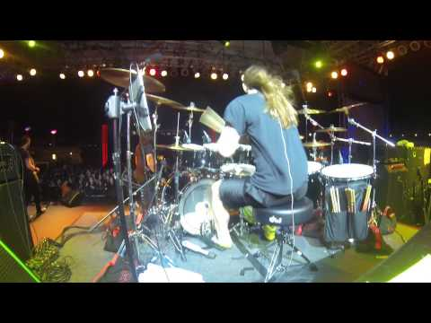 Annihilator - Mike Harshaw Drum Cam -