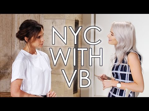 I GOT TO MEET VICTORIA BECKHAM IN NEW YORK | VLOG 36