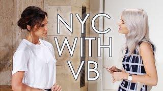 I GOT TO MEET VICTORIA BECKHAM IN NEW YORK | VLOG 36