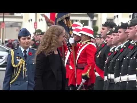 The Governor General's Official Visit to New Brunswick