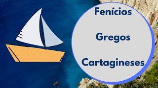 Fenícios, gregos e cartagineses na Península Ibérica - História 1º ciclo - O Troll explica.