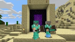 WIGETTA EXTREMO 2 - PORTAL AL NETHER! #10 - MINECRAFT 17w06a thumbnail