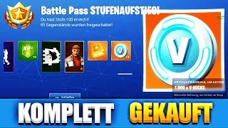 SEASON 6 BATTLE PASS LEVEL 100 PURCHASED!! | Fortnite