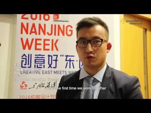 Chinese culture merge into the UK -- 2016 Nanjing Week