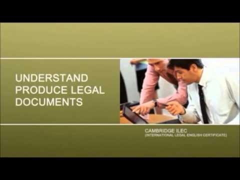 ILEC - International Legal English Certificate