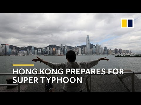 How Hong Kong is preparing for what could be strongest storm on record