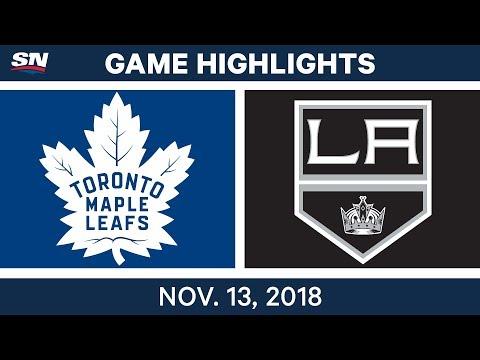NHL Highlights | Maple Leafs vs. Kings – Nov. 13, 2018