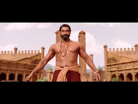 Mass Villain(Rana) Introduction in bahubali 1