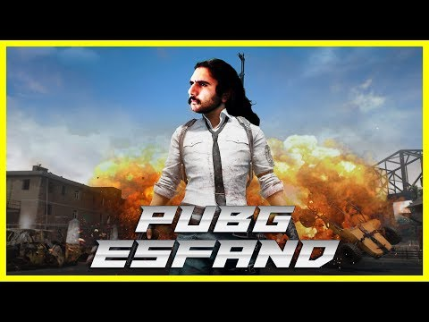 I'm going to get good at this game someday | Esfand PUBG Stream
