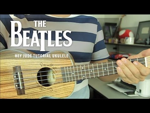The Beatles - Hey Jude UKULELE Tutorial (HD)