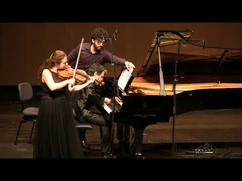 "Nora Romanoff-Schwarzberg, viola - Schubert ""Arpeggione"" Sonata"