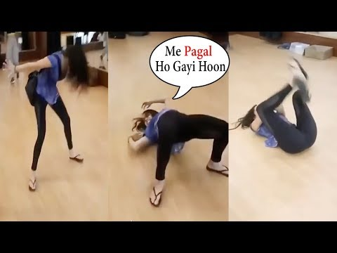 Shraddha Kapoor Acting Like A MAD During Dance Rehearsal For Street Dance Movie | Funny Video