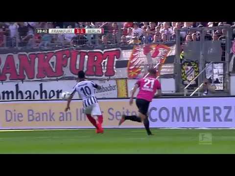 Highlights : Eintracht Frankfurt 3 - 3 Hertha Berlin