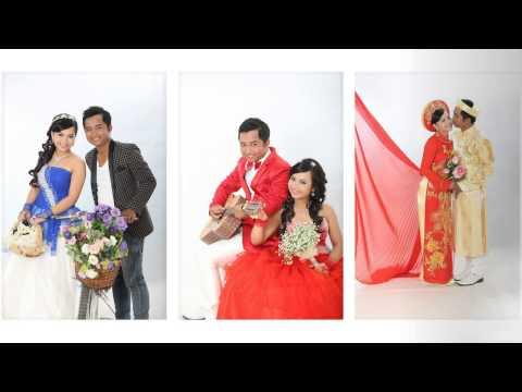 Album cuoi Quyen & Linh