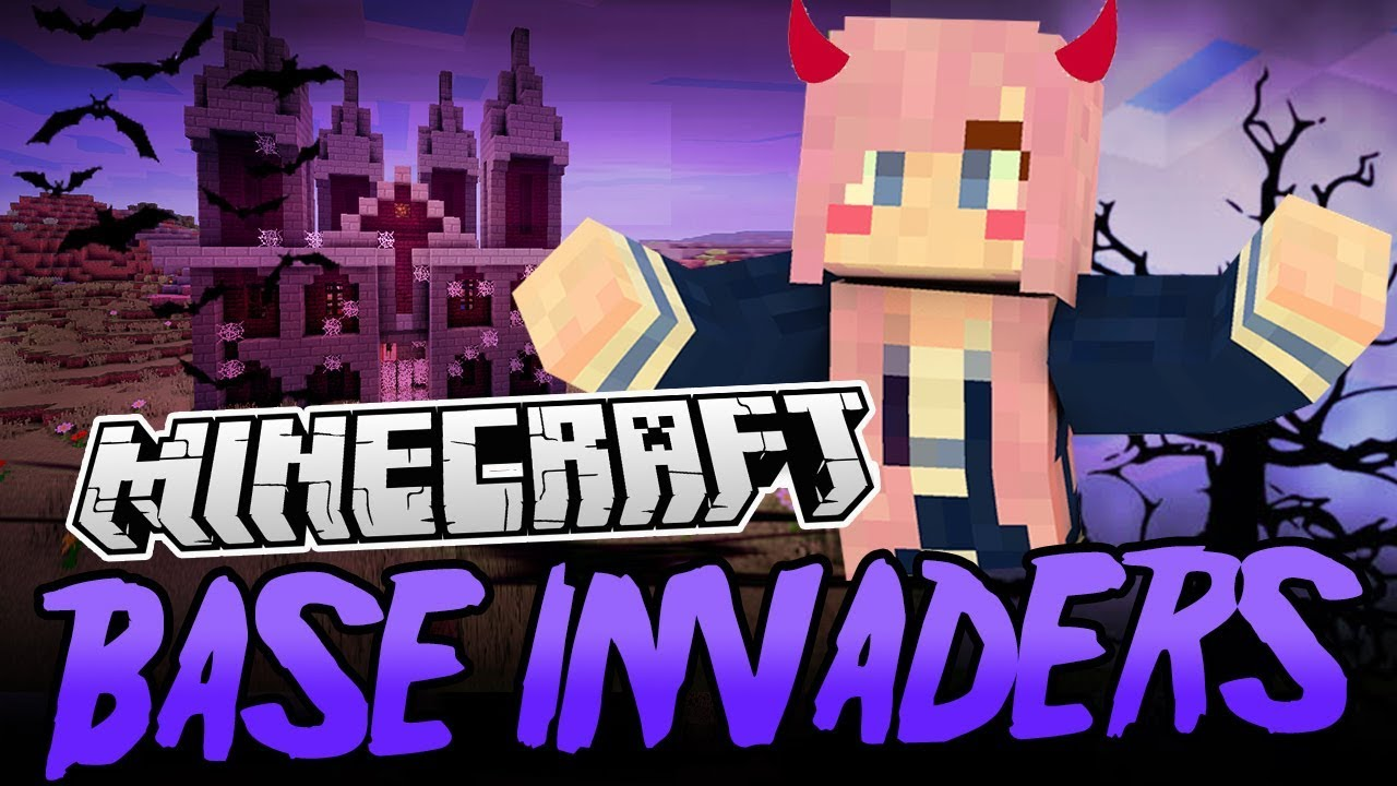 Distraction Manor Minecraft Base Invaders Challenge