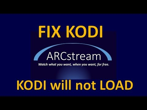 KODI will not Load for Amazon Fire TV