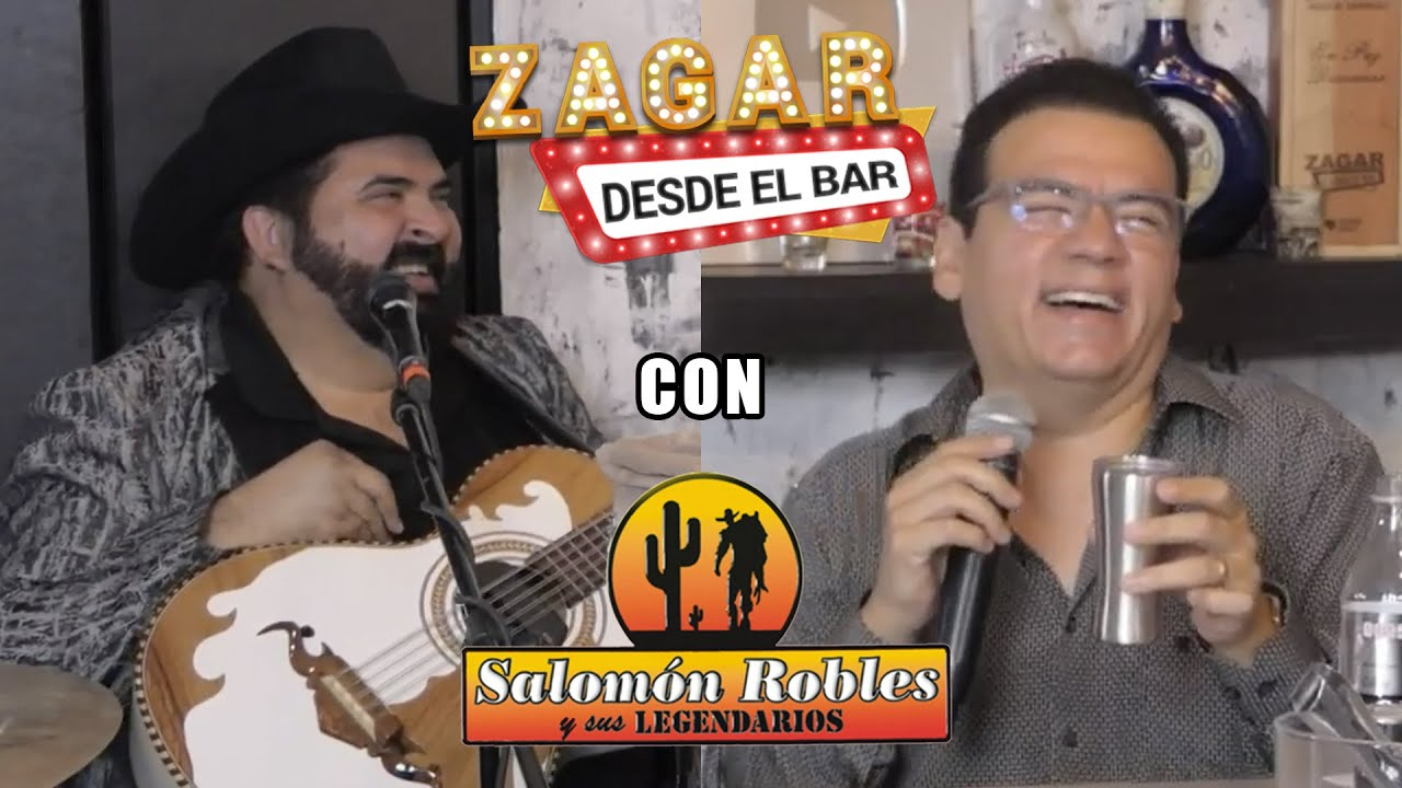Zagar desde el Bar con Salomón Robles - YouTube