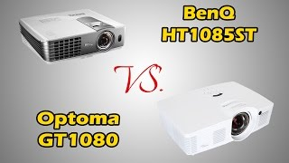 BenQ HT1085ST vs Optoma GT1080 Short Throw Projector Review