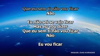 Sara Carreira - Vou Ficar (Karaoke) Versão MP3